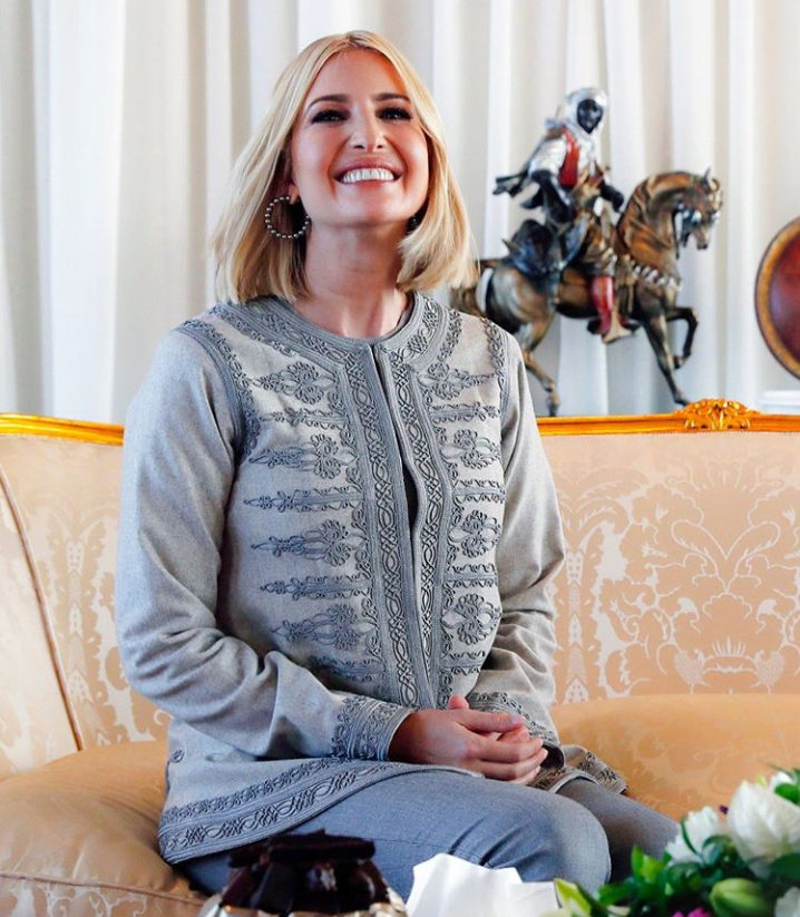 Ivanka Trump Gray Moroccan Jacket