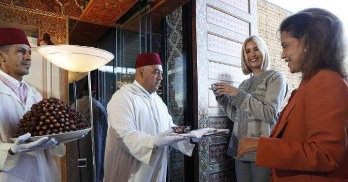 Ivanka Trump Lands in Rabat Ready for Women's Empowerment Mission