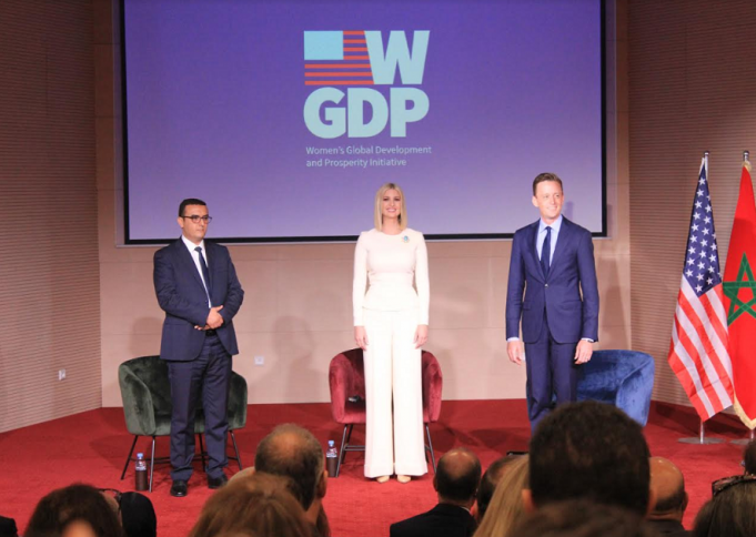 Ivanka Trump Bolsters Female Empowerment in Rabat