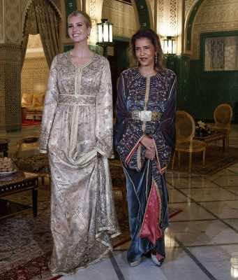 Ivanka Trump Shines in Moroccan Kaftan at Royal Dinner