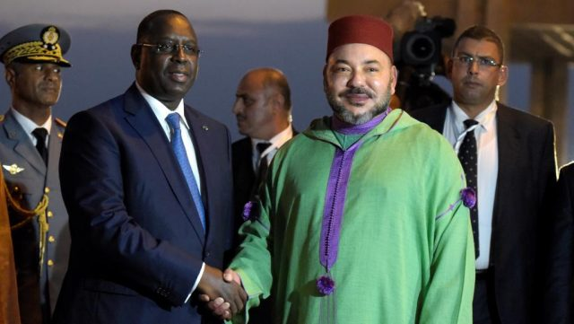 King Mohammed VI and Macky Sall