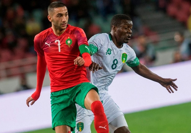 Uninspired Moroccan Lions Draw with Mauritania in First CAN Qualifier