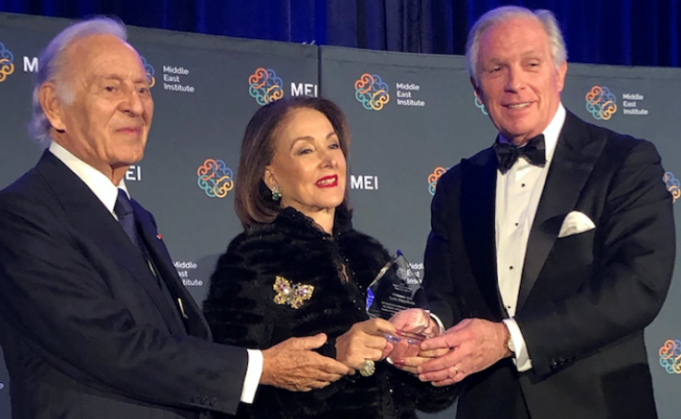 Middle East Institute Honors Morocco's BMCE Bank Foundation Leaders