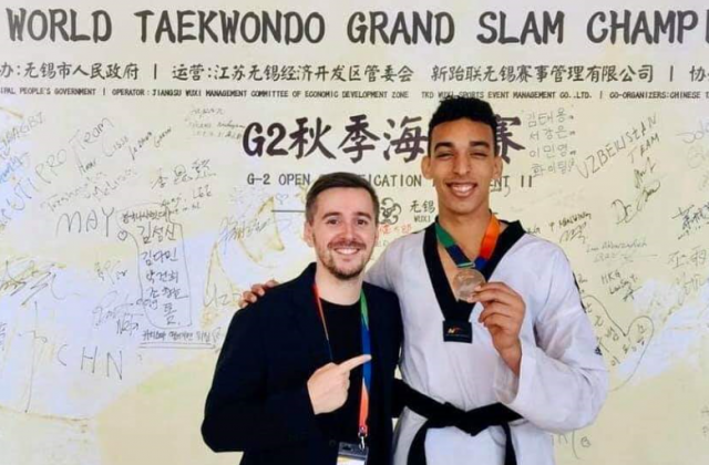 Moroccan Taekwondo Player Wins Bronze Medal at International Competition in China