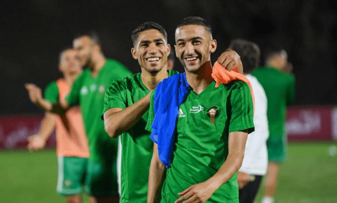 Morocco's Achraf Hakimi, Hakim Ziyech Among CAF Awards Nominees