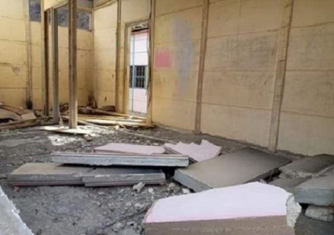 School Collapses in Taroudant, Southern Morocco