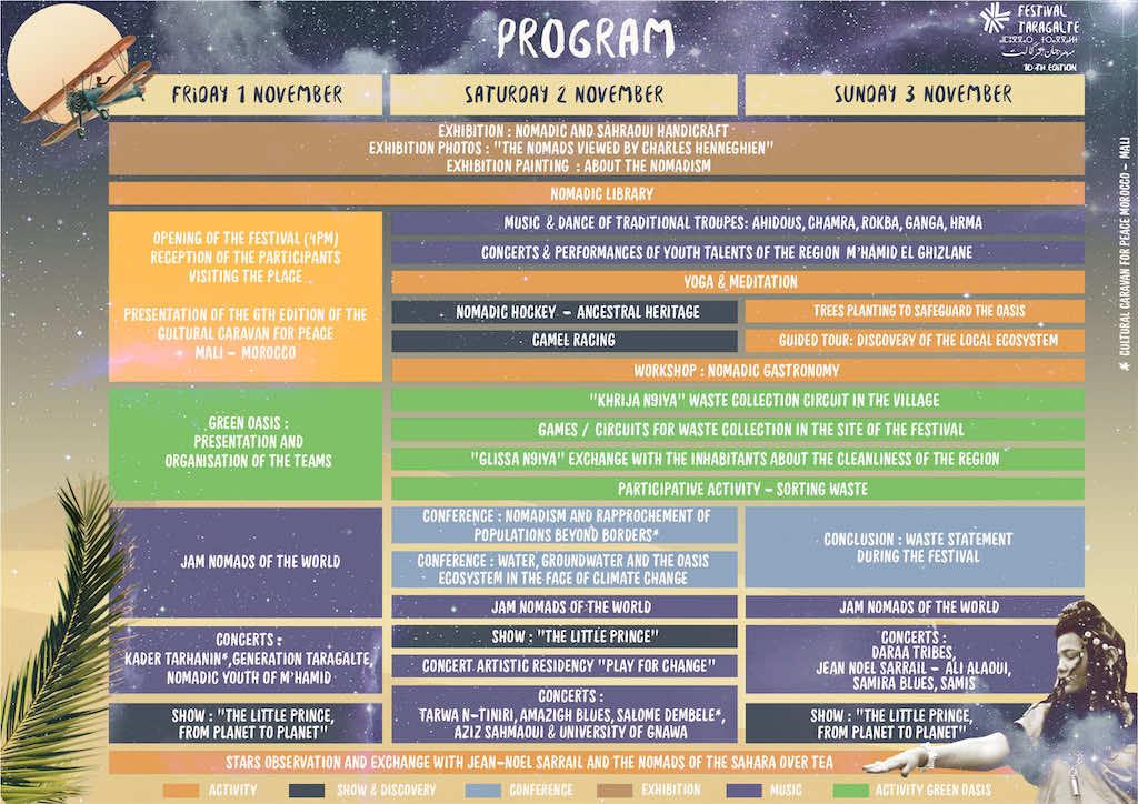 Taragalte Festival 2019 schedule
