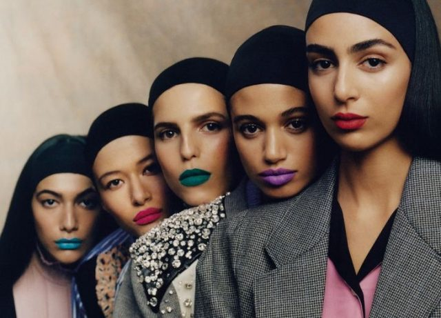 Moroccan Models Grace Vogue Arabia Cover Arab Girls Rock