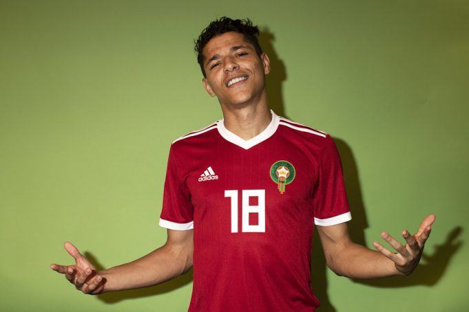 Amine Harit Says He Is 'Madly in Love with Morocco'