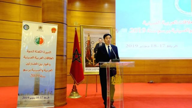 China-Arab Relations Develop 'Very Fast'