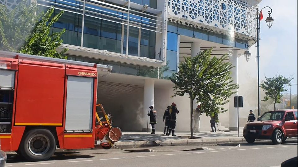 Fire at Brand New Shopping Mall in Rabat Kills Security Guar