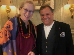 Hollywood Superstar Meryl Streep Enjoys Winter Break in Marrakech