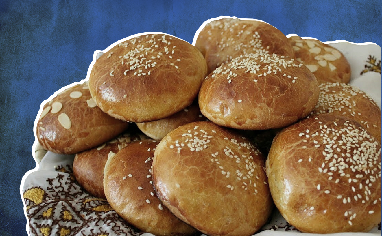 How to Make Qrashel, Moroccan Sesame Rolls