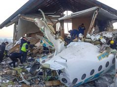 Kazakh airplane crash