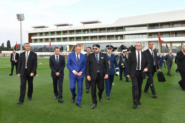 King Mohammed VI Inaugurates Renovated Football Center Near Rabat