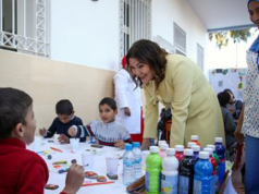 Lalla Hasna Visits Children's Home on 30th Anniversary of Al Ihssan Charity