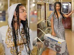 Moroccan-Egyptian Model Steals the Show Moschino Pre-Fall Catwalk