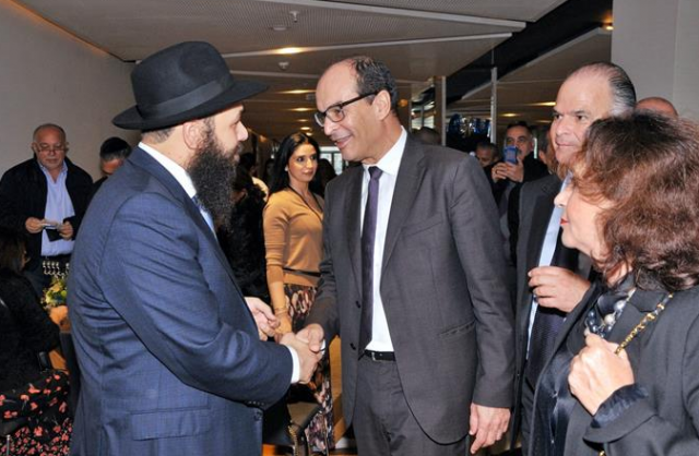 Moroccan Officials Attend Hanukkah Celebration in Casablanca