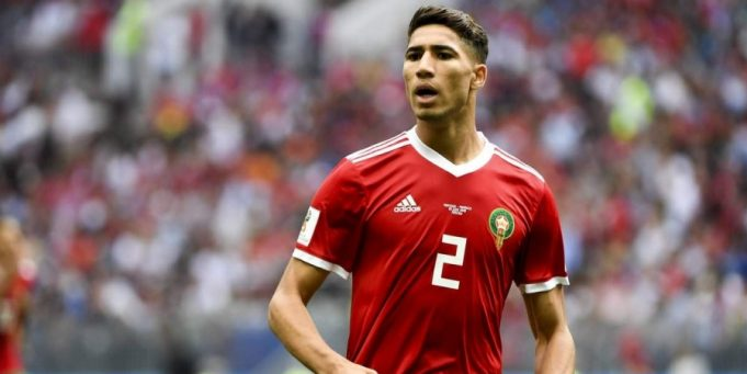 Achraf Hakimi Wins Young Arab Player of the Year Award