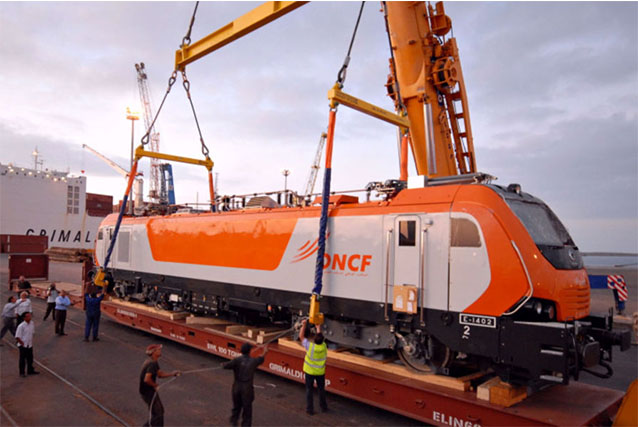 Moroccan Rail Company ONCF Gets First Electric Engine
