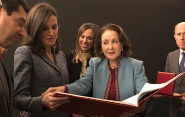 Queen Letizia of Spain Inaugurates Amazigh Exhibition in Granada
