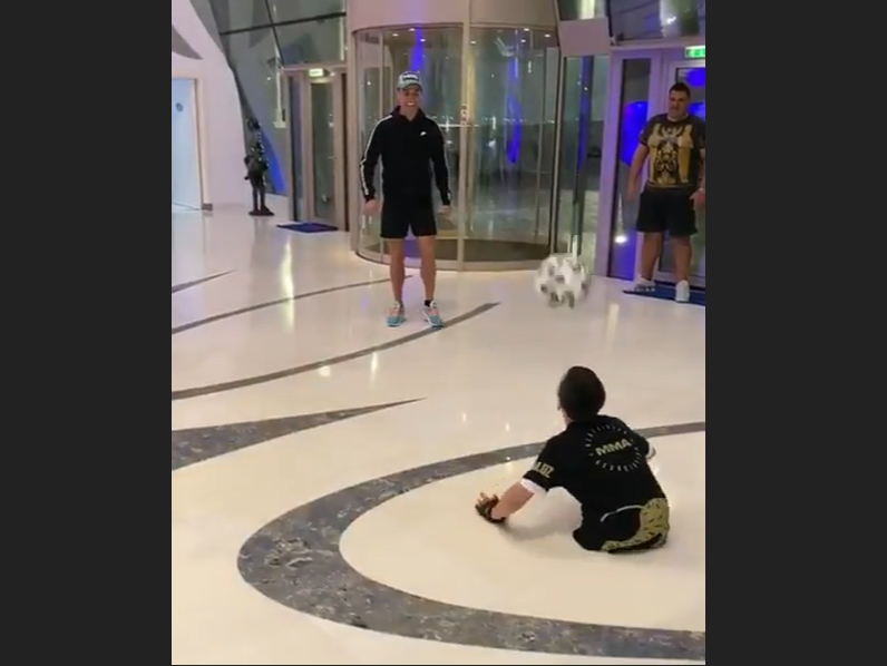 Ronaldo Fulfills Dream of Emirati Boy with Special Needs