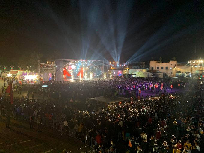 Superstar Maître Gims Proud to Sing at Marrakech' Stars in the Place Concert