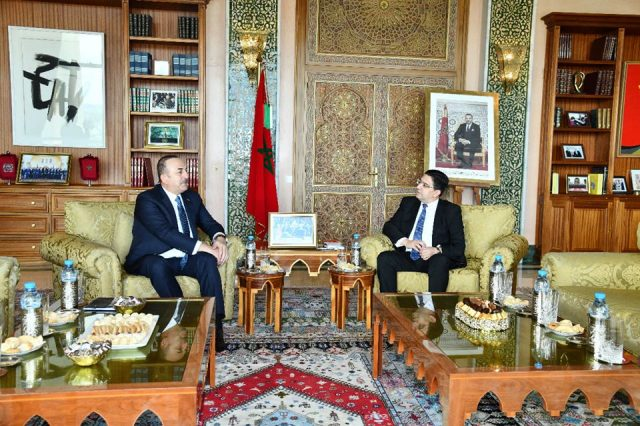 Turkish FM, Turkey Supports Morocco's Territorial Integrity, Stability