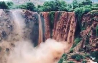Video: Morocco's Ouzoud Falls Overflow After Heavy Rainfall