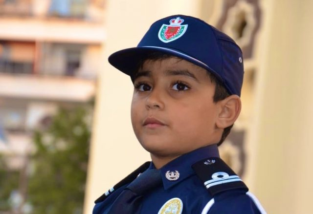 Morocco's DGSN Receives Adorable 'Little Policeman' in Casablanca