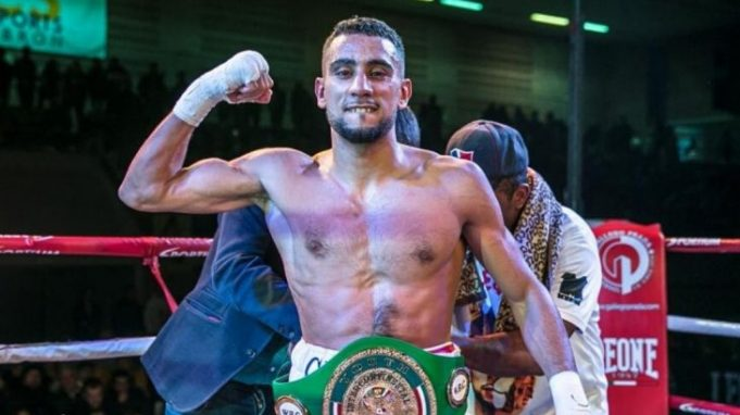 Moroccan Boxer Moussa Gholam Knocks Out Opponent to Claim World Title