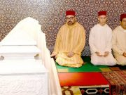Royal Family Leads Religious Ceremony to Honor King Hassan II