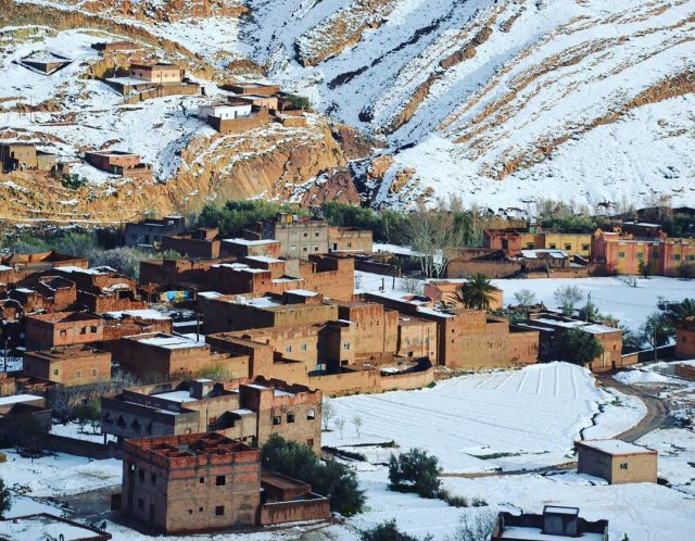 Thunderstorms, Heavy Rain, Snowfalls to Start Monday in Morocco