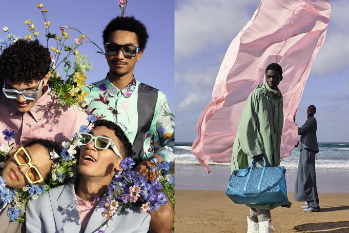 Tangier, Chefchaouen Backdrop Louis Vuitton's Dreamy 2020 Collection