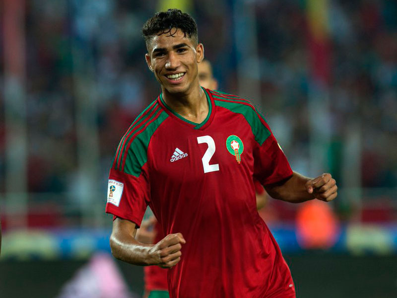 Achraf Hakimi: My Ambition is to Honor Moroccan Football