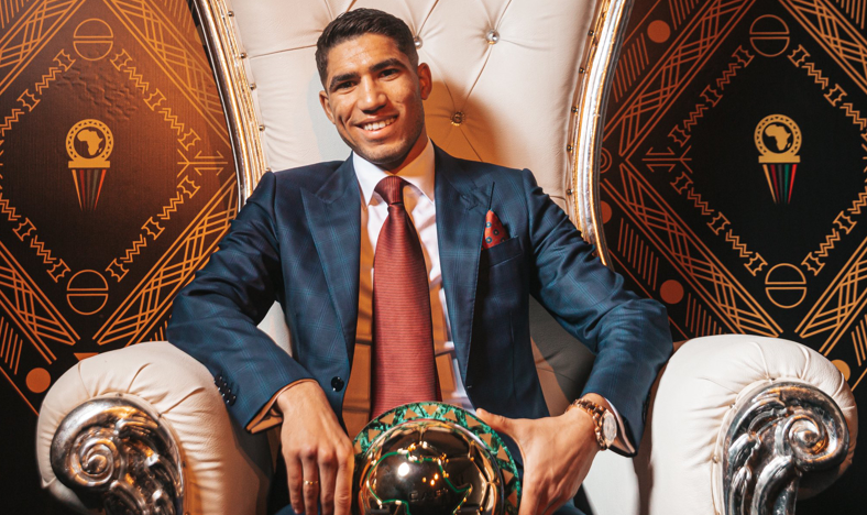 Achraf Hakimi Wins 2019 African Youth Player of the Year Award