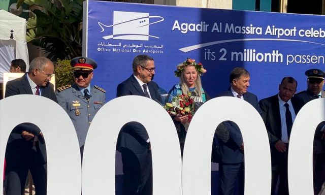 Agadir Airport Reaches Two Million Passengers in 2019