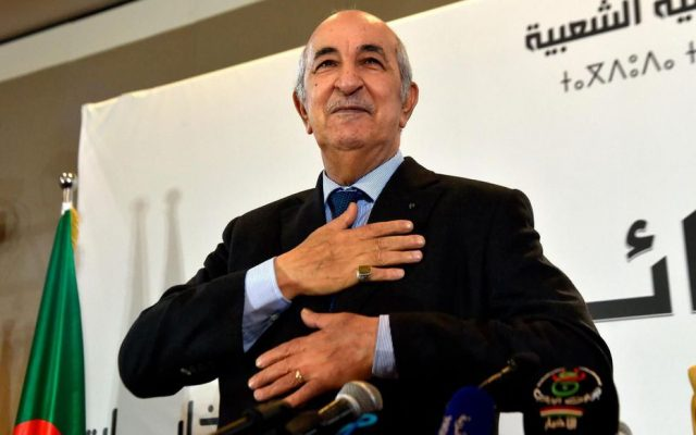 Algeria's Tebboune, We Will Continue to Support Polisario