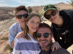 Beckham Family Share Snaps of Winter Holiday in Morocco