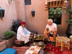 British Billionaire Sir Richard Branson Reveres Moroccan Storytelling Traditions