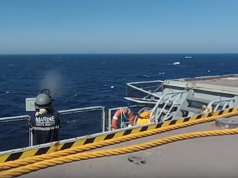French Helicopter Carrier Dixmude Makes Stopover in Casablanca