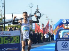 Moroccan Athlete Hicham Laqouahi Breaks Record at Marrakech Marathon