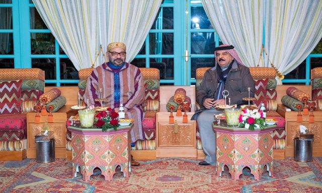 King Hamad of Bahrain Visits King Mohammed VI on Private Trip to Morocco