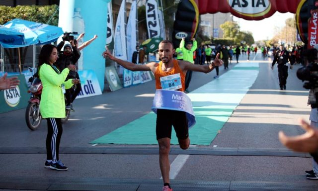 Morocco's Jawad Kallouz Sets New Record at Fez Marathon