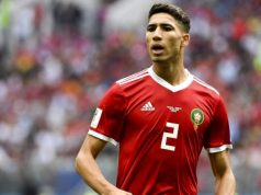 Morocco's National Team Newspaper Names Achraf Hakimi 2019 'Golden Lion'