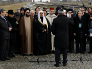 Muslim Leaders Hold Memorial Prayers in Nazi Camp to Deplore Holocaust Crimes