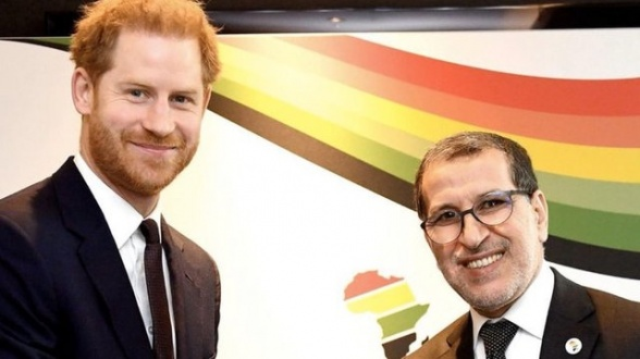 Prince Harry Meets Moroccan PM During Last Royal Engagement