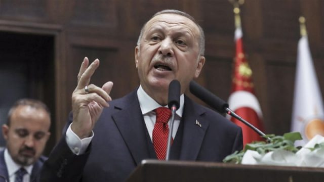 Turkey's Erdogan Calls on Europe to Support De-escalation Efforts in Libya