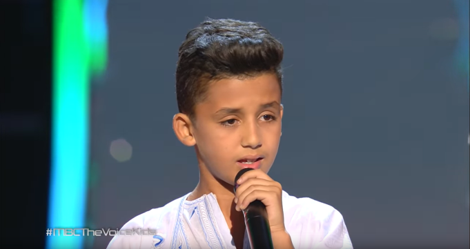 Video: 14-Year-Old Moroccan Boy Dazzles Judges on 'The Voice Kids'