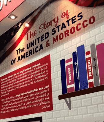 'Dar America' Pavilion at SIEL Book Fair Showcases Morocco-US History
